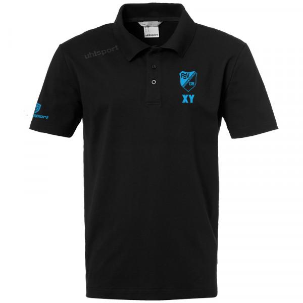 Trainer Polo-Shirt / schwarz