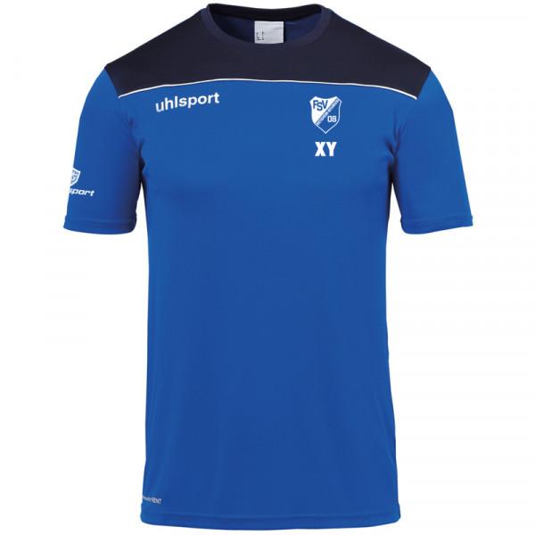 Offense23 Poly-Shirt / azurblau