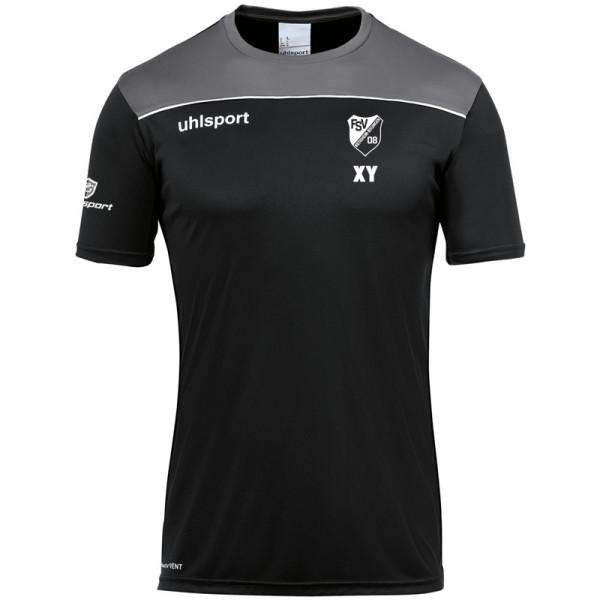 Offense23 Poly-Shirt / schwarz
