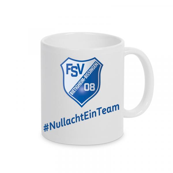 Kaffeepott FSV 08 Bietigheim-Bissingen #NullachtEinTeam