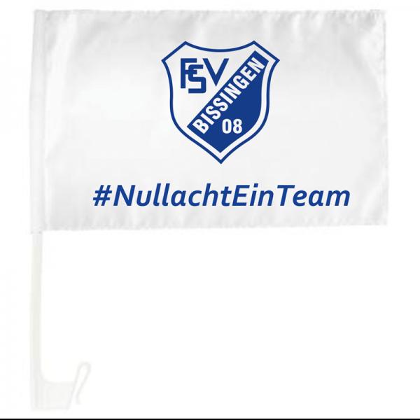 Autoflagge FSV 08 Bissingen #NullachtEinTeam