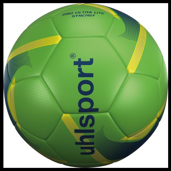 Spiel- und Trainingsball 290 Ultra Lite Synergy / fluo grün-marine-fluo gelb