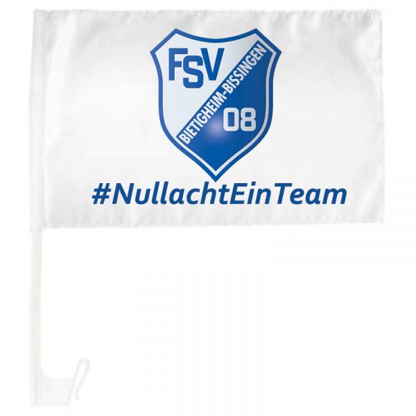 Autoflagge FSV 08 Bietigheim-Bissingen #NullachtEinTeam