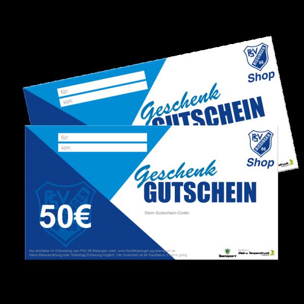 50,00€ Geschenk Gutschein